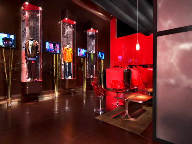 Exhibition Booth Management : Nike brand jordan premier displays exhibits inc